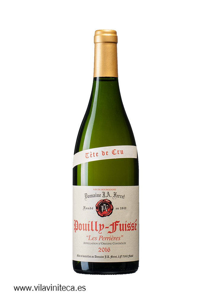 DOMAINE FERRET pouilly_fuisse perrieres 2016