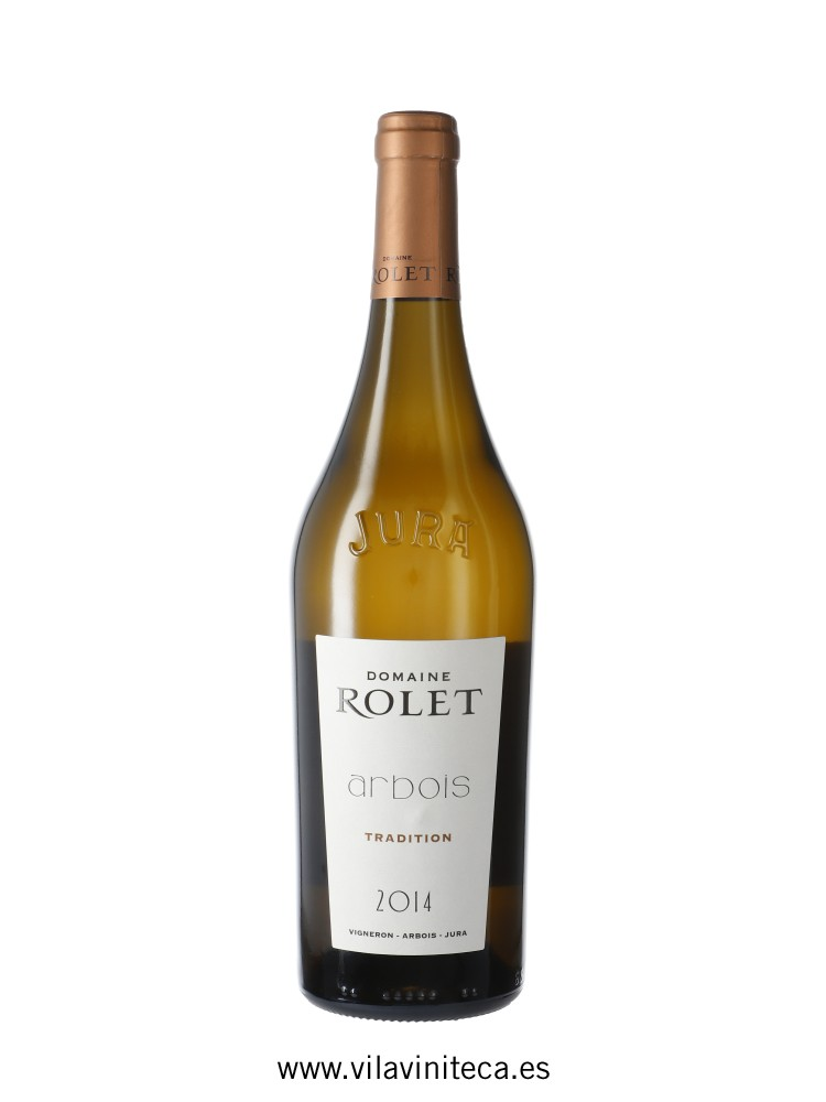 DOMAINE ROLET arbois blanc tradition 2014