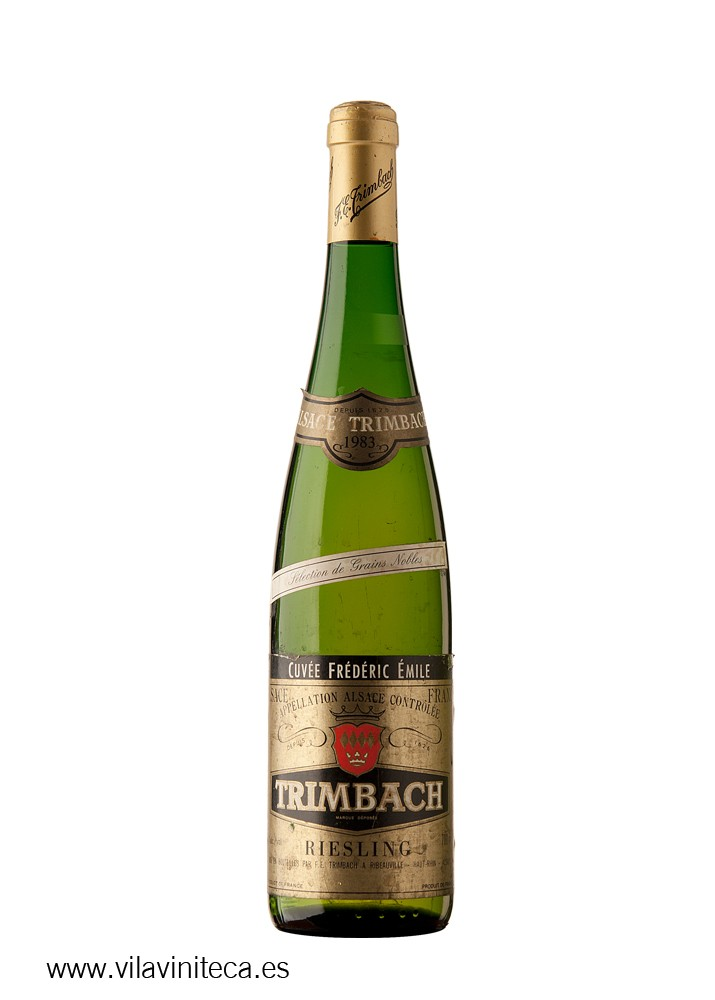 TRIMBACH riesling frederic emile s.g.n. 1983