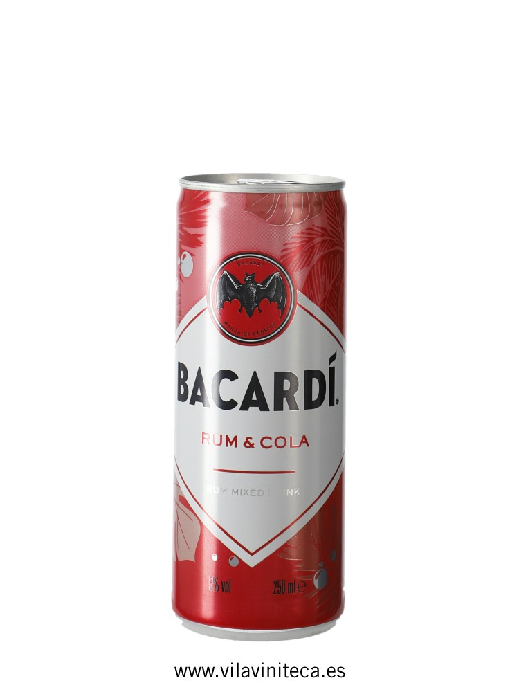BACARDI and cola LATA _25cl_