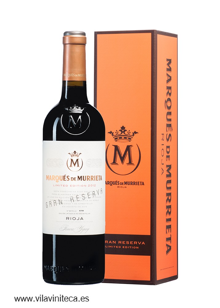 MARQUES DE MURRIETA gran reserva 2012